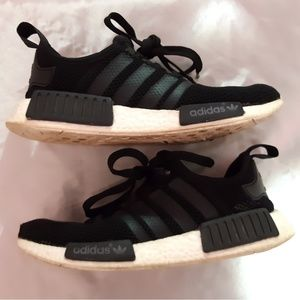 Adidas NMD Black & White Sneakers 7.5